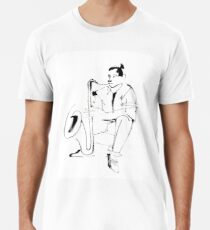 Saxophone Player Musician Premium T-Shirt