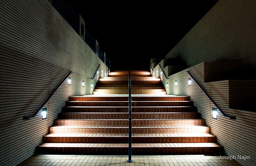 Night Stair by Joseph Najm