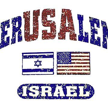 JerUSAlem: The USA Supports Israel by Spacestuffplus