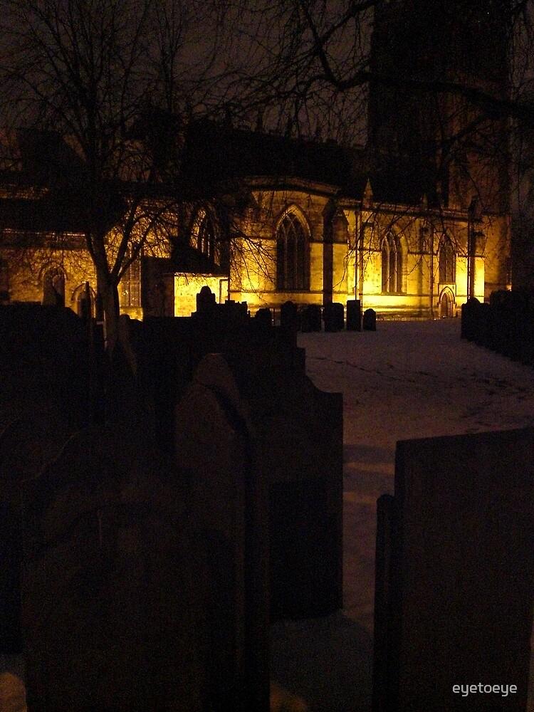 Church At Night by eyetoeye