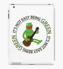 It's Not Easy Being Green iPad Case/Skin