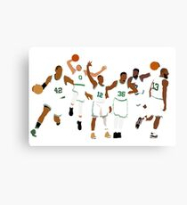 Celtics Canvas Print