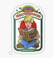 My first Necronomicon Sticker