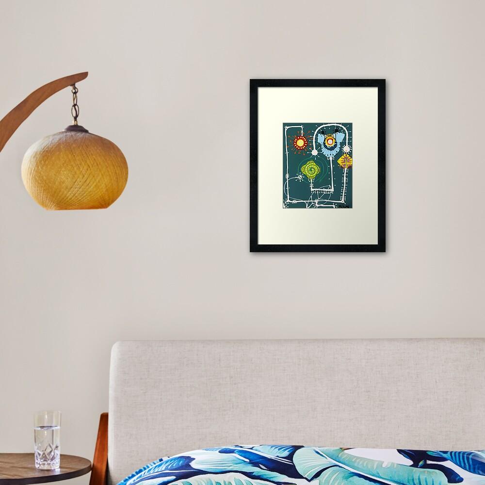 Sheets Framed Art Print
