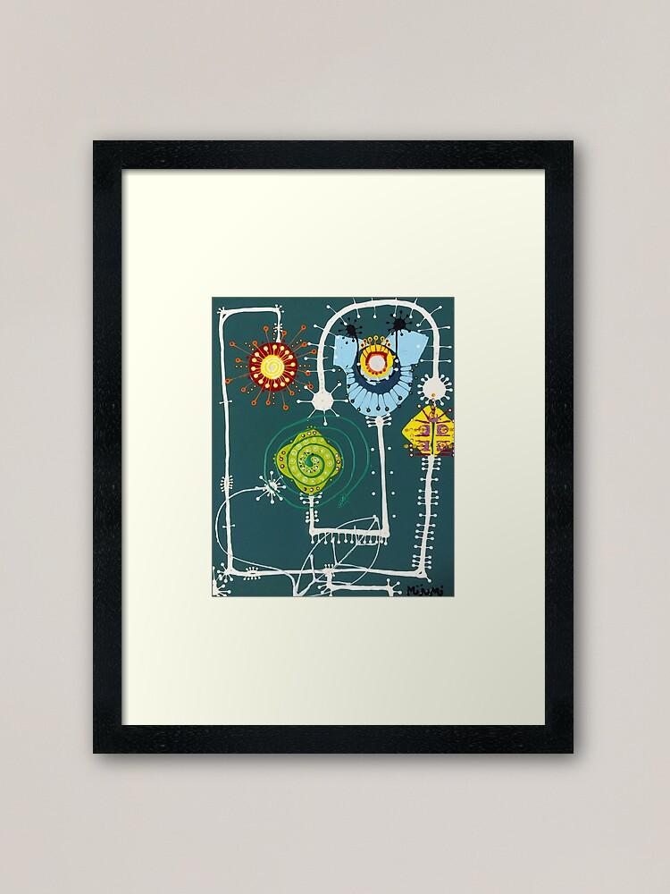 Alternate view of Sheets Framed Art Print