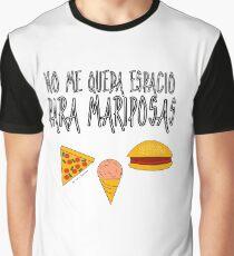 COMIDA ANTES QUE MARIPOSAS Camiseta gráfica