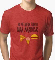 COMIDA ANTES QUE MARIPOSAS Camiseta de tejido mixto