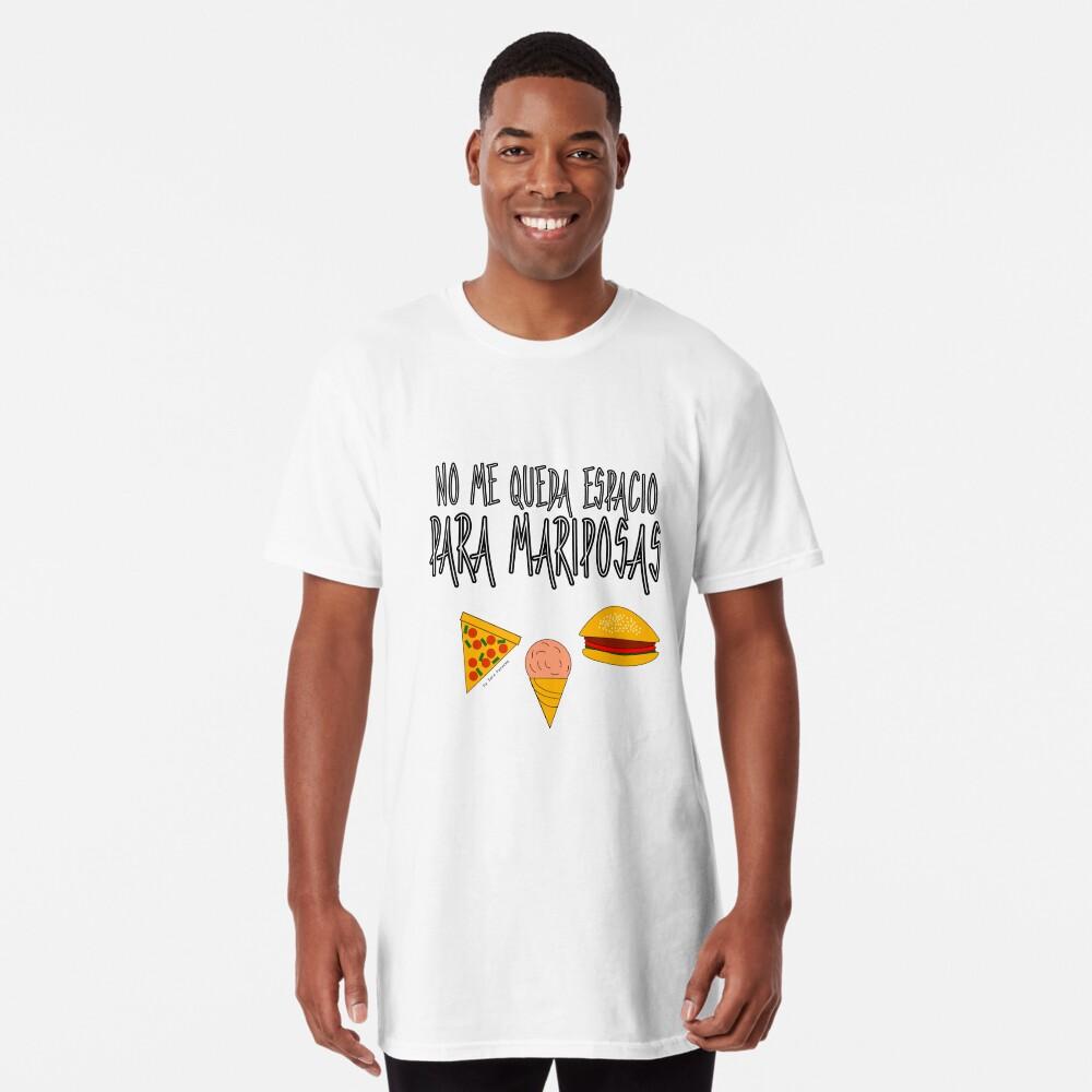 COMIDA ANTES QUE MARIPOSAS Camiseta larga