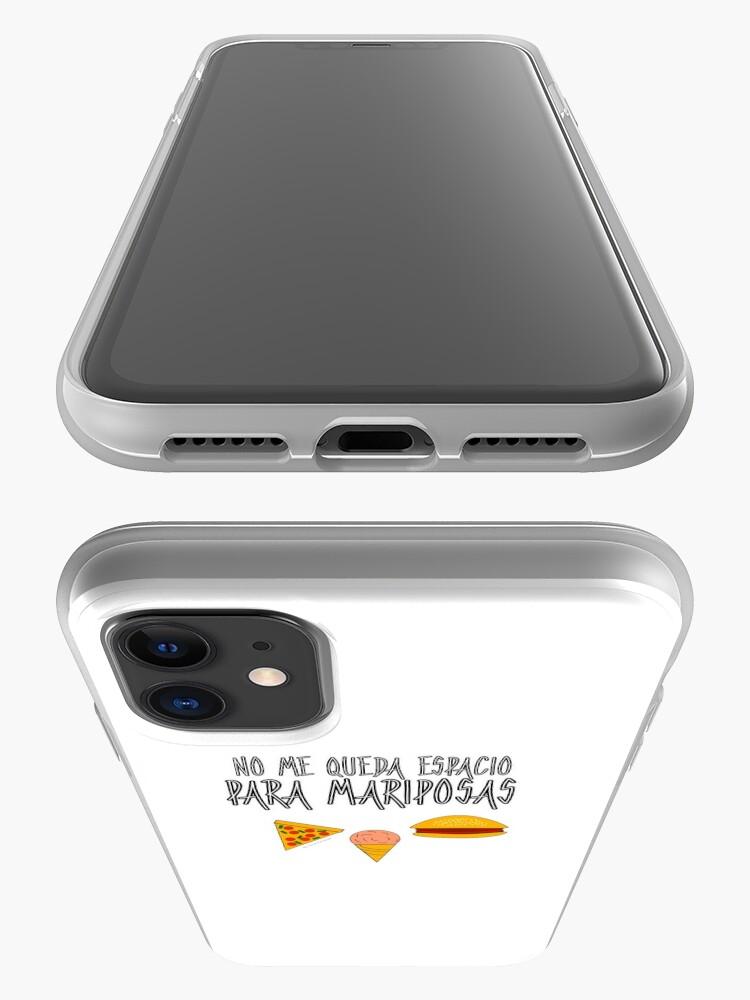 Vista alternativa de Funda y vinilo para iPhone COMIDA ANTES QUE MARIPOSAS