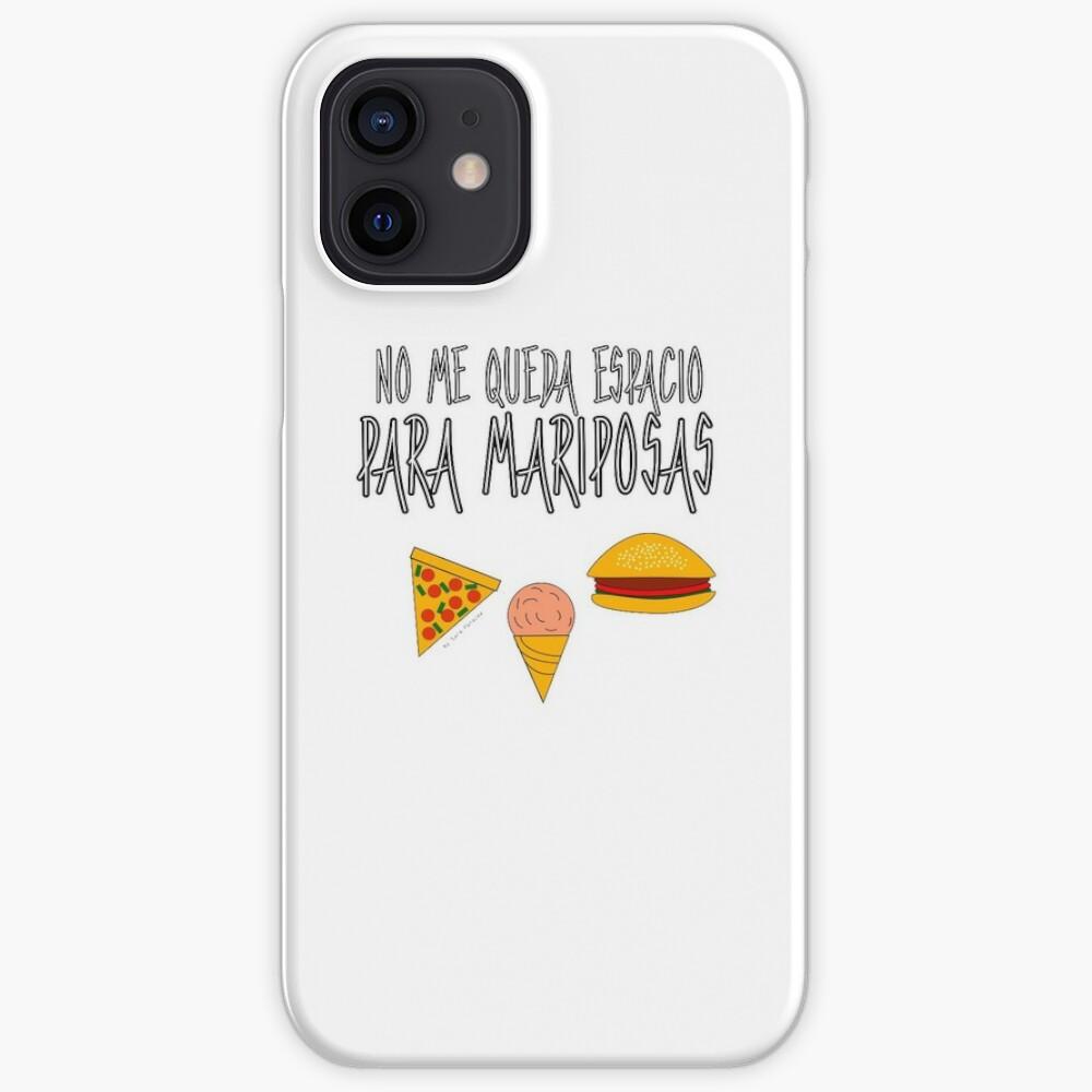 COMIDA ANTES QUE MARIPOSAS Funda y vinilo para iPhone
