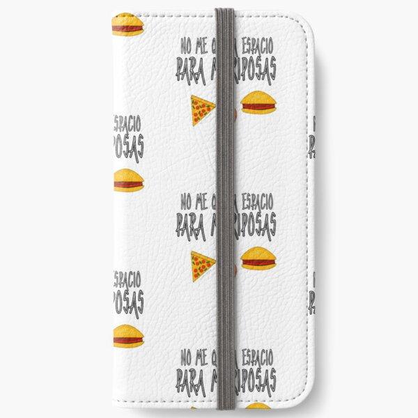 FOOD BEFORE BUTTERFLIES iPhone Wallet