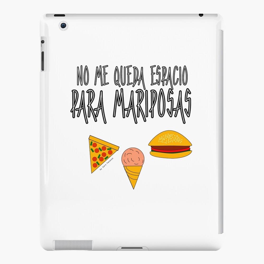 COMIDA ANTES QUE MARIPOSAS Funda y vinilo para iPad