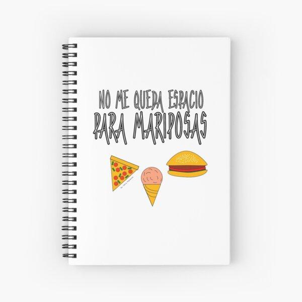 COMIDA ANTES QUE MARIPOSAS Cuaderno de espiral