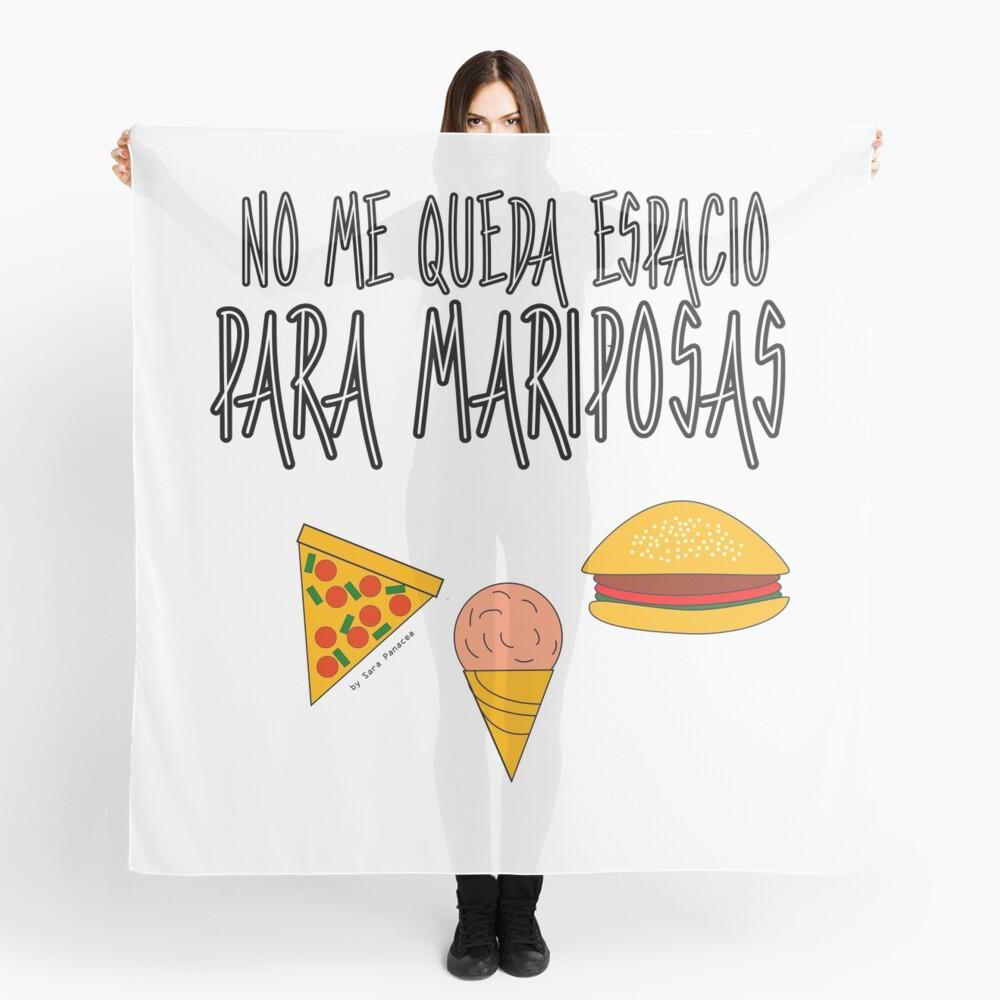 COMIDA ANTES QUE MARIPOSAS Pañuelo