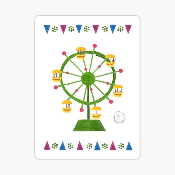Fantastic Ferris Wheel Sticker