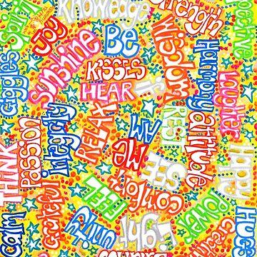 Words On Yellow by sammynuttall