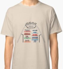 ICONIC Rollercoaster 2018 Launch! - Blackpool Pleasure Beach Coaster Cars (Unofficial) Classic T-Shirt