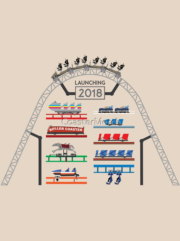 ICONIC Rollercoaster 2018 Launch! - Blackpool Pleasure Beach Coaster Cars (Unofficial) by CoasterMerch