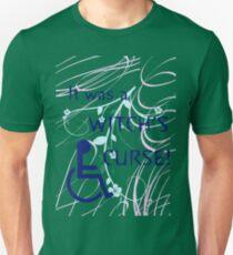 It Was A Witch's Curse: Disability Shirt Unisex T-Shirt