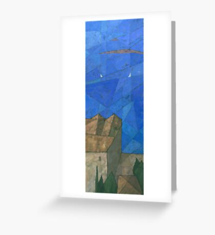 Côte d'Azur I Greeting Card