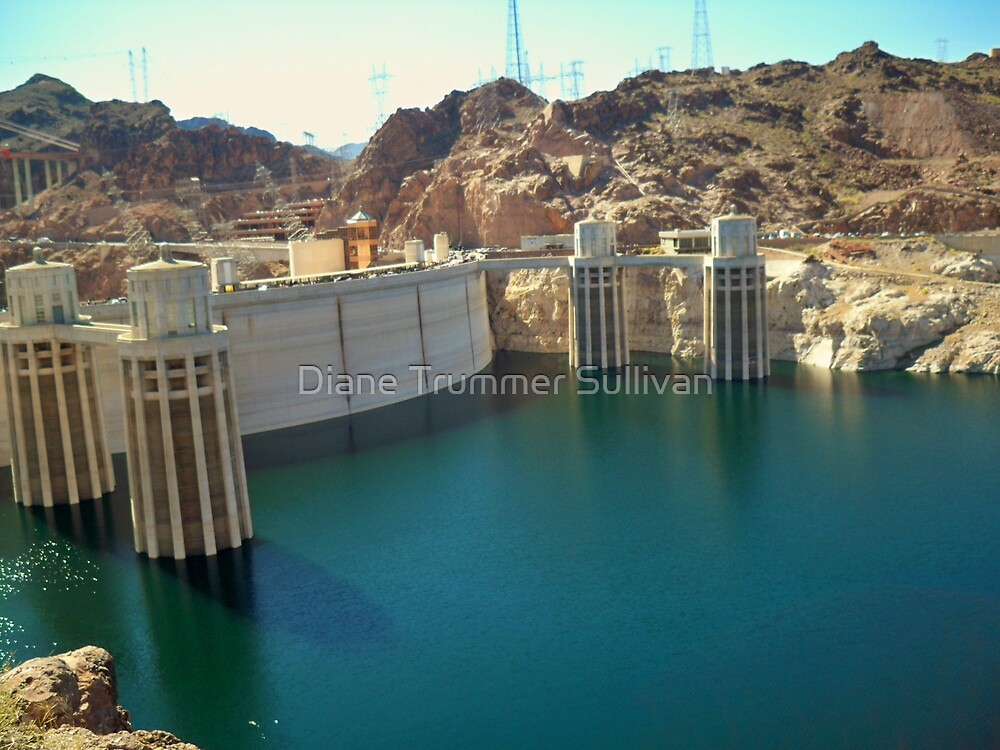 Hoover Damn Site by Diane Trummer Sullivan