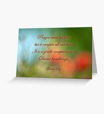 Prayer . . . Greeting Card