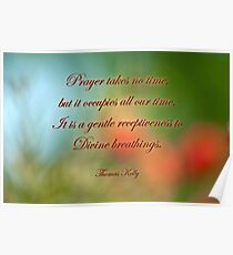Prayer . . . Poster