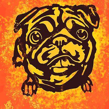 Trippy Pug 1 (Alt) by Ronin-Ace