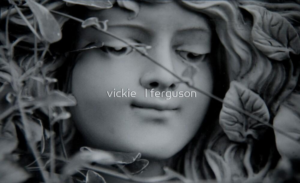 planter face detail.....goddess by vickie   l ferguson