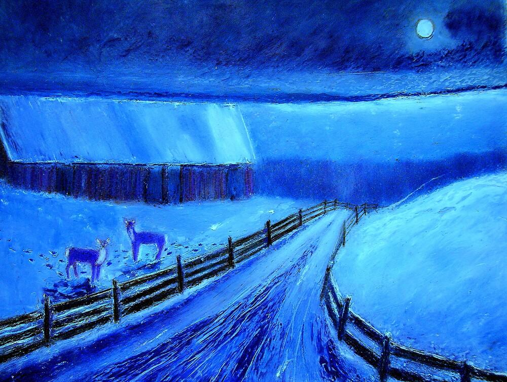 Winter Blue by Kent Whitaker