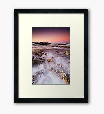 Cotton Candy Dawn Framed Print