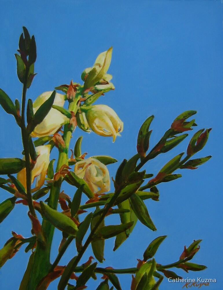 Yucca Blooming II by Catherine Kuzma