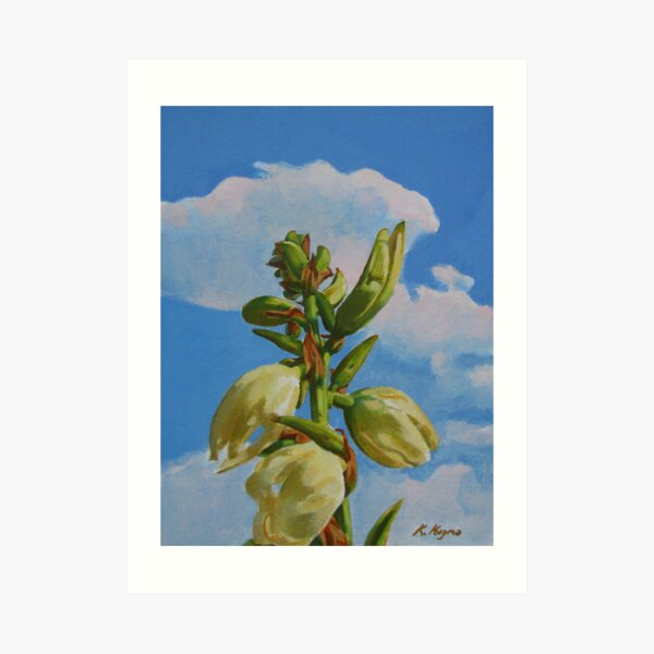 Yucca Rising II Art Print