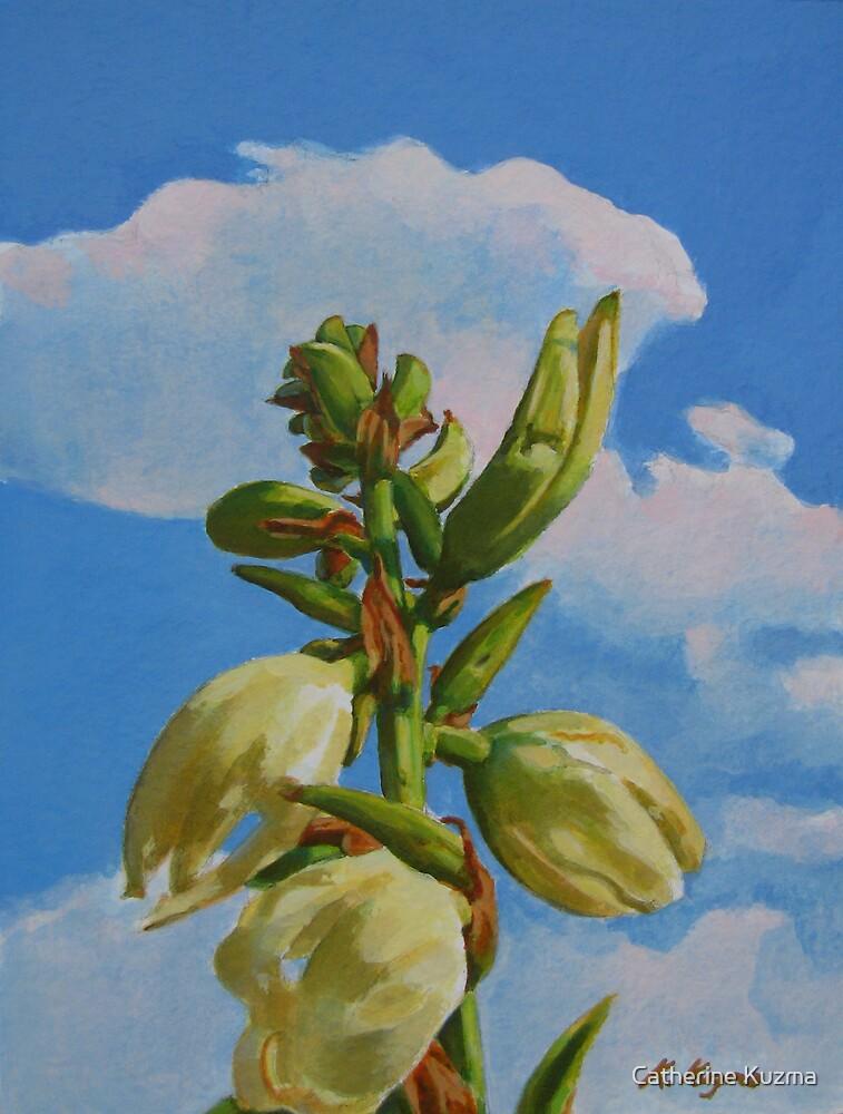 Yucca Rising II by Catherine Kuzma