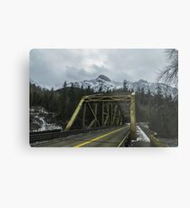 Pacific Northwest Mountains Metal Print