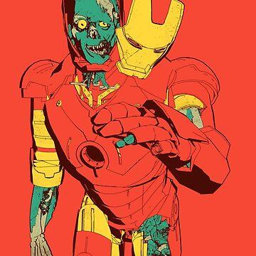 iron zombie by lmilustraciones