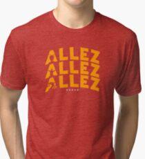 Allez Allez Allez LFC inspired design Tri-blend T-Shirt