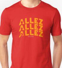 Allez Allez Allez LFC inspired design Unisex T-Shirt