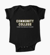 Community College - Easier Than Regular College One Piece - Short Sleeve