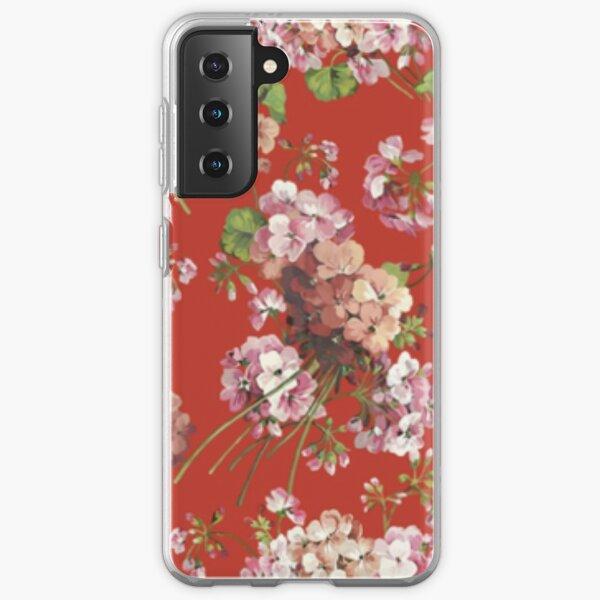 Combinaison rouge HS Coque souple Samsung Galaxy
