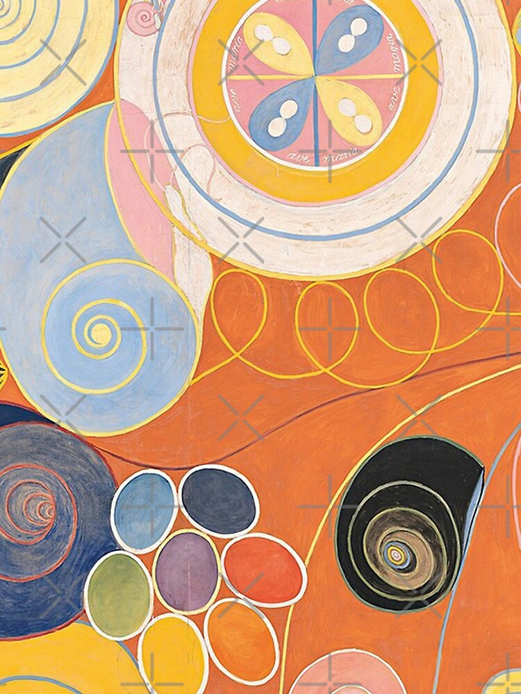 HD Untitled, by Hilma af Klint 1907 HIGH DEFINITION by mindthecherry