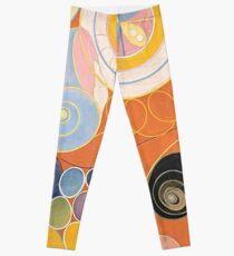 HD Untitled, by Hilma af Klint 1907 HIGH DEFINITION Leggings