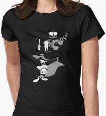 Danger Womens Fitted T-Shirt