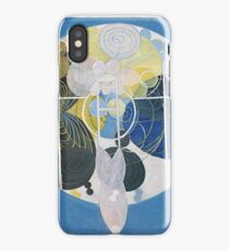 HD The key to the work up to this point, by Hilma af Klint 1907 HIGH DEFINITION iPhone Case