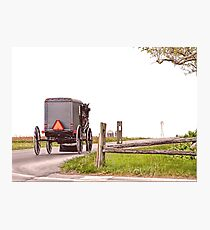 Country Traveler Photographic Print