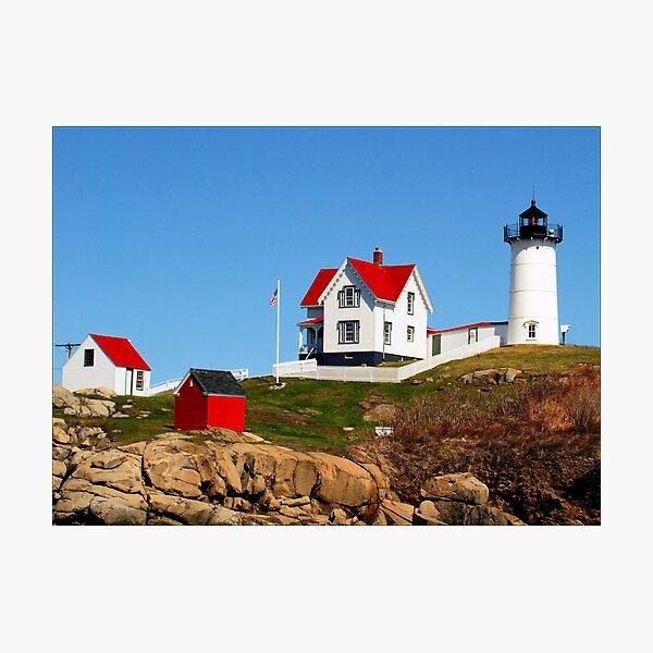 Cape Neddick Lighthouse Photographic Print