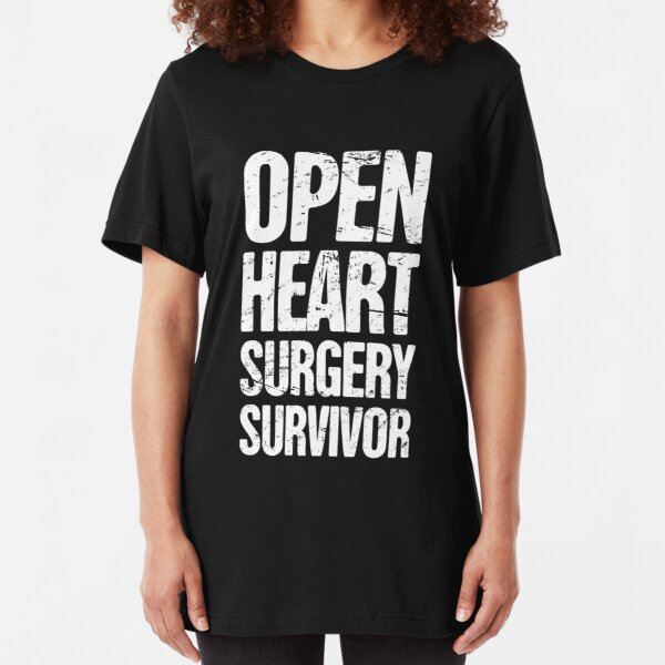 Open Heart Surgery Get Well Soon Hospital Recovery Funny Gag Gift T-Shirt