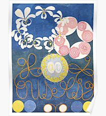 HD Childhood, The Ten Largest, by Hilma Af Klint HIGH DEFINITION Poster
