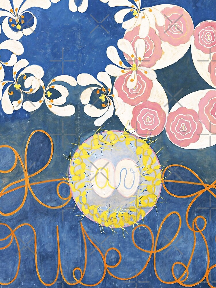 HD Childhood, The Ten Largest, by Hilma Af Klint HIGH DEFINITION by mindthecherry