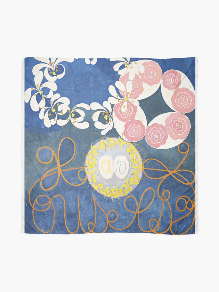 Alternate view of HD Childhood, The Ten Largest, by Hilma Af Klint HIGH DEFINITION Scarf